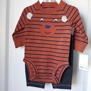 Carters Bear/ Pants set